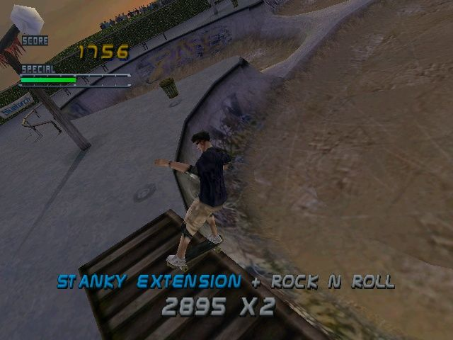 Tony Hawk's Pro Skater 2 Windows Marseille is the first competition (and so, the first real skate park)