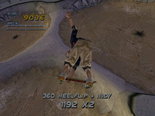 Tony Hawk's Pro Skater 2 Windows Lots of funky gaps to do here