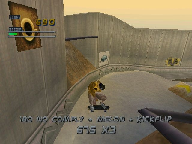 Tony Hawk's Pro Skater 2 Windows The Downhill Jam (from THPS) is a race-style level