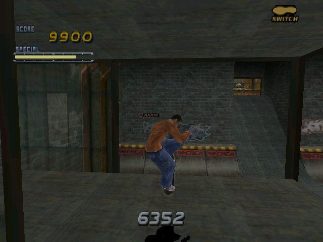 Tony Hawk's Pro Skater 2 Windows Flying through windows in a Warehouse was never so much fun