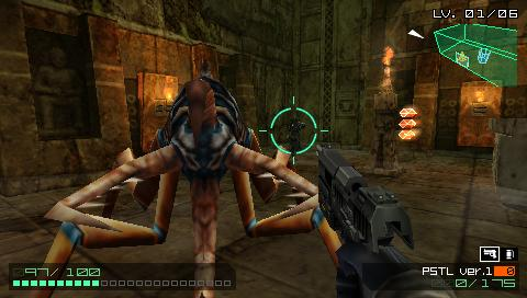 Coded Arms PSP Big bug!