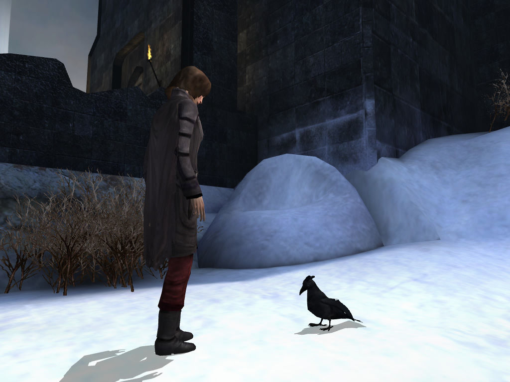 Dreamfall: The Longest Journey Windows April and Crow often need to devise cunning plans.