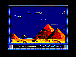 P47 Thunderbolt Amstrad CPC Level 6