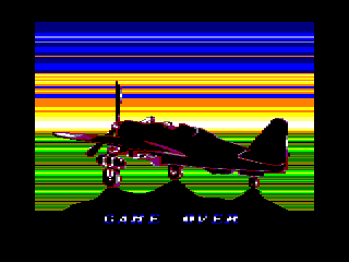 P47 Thunderbolt Amstrad CPC Game Over