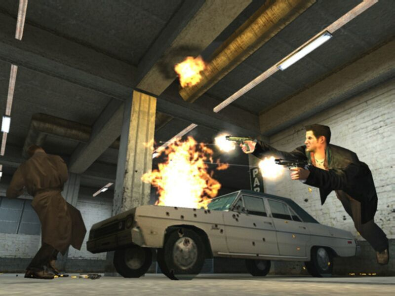 Max Payne Windows Fly by your enemies and shoot them