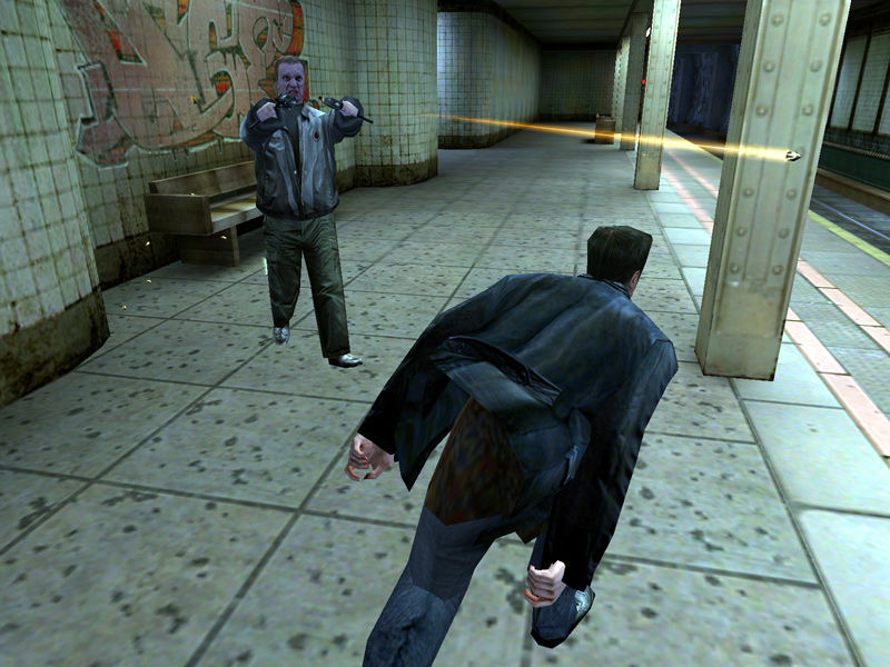 Max Payne Windows In slow motion you can actually see the bullets