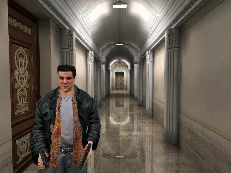 Max Payne Windows A rare picture: Max without guns pointed at him