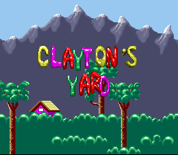 Claymates SNES Each level has its own name