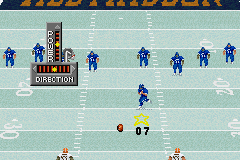 Madden NFL 2003 Game Boy Advance The punting and field goal interface