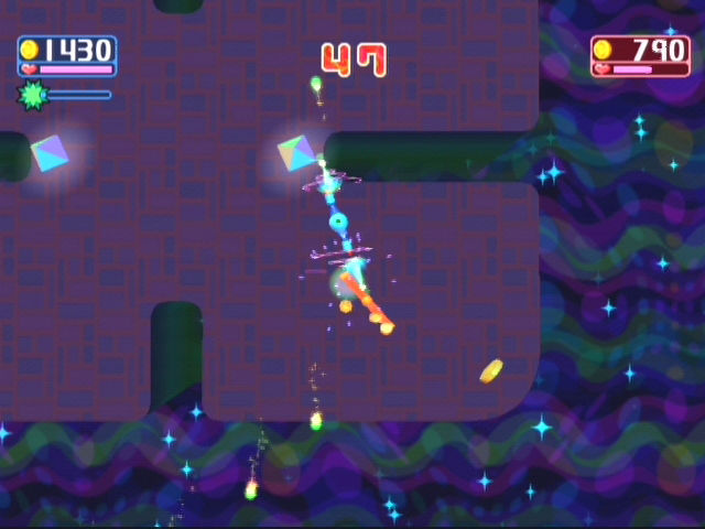 Kururin Squash! GameCube Kuruin Squash also has a new battle multiplayer mode