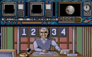 Thunderbirds Atari ST Press the number to load the apporopriate level, provided you have the password