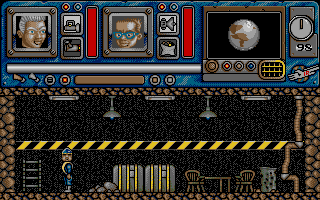 Thunderbirds Atari ST Game start