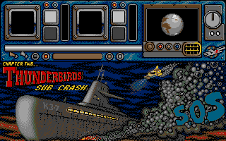 Thunderbirds Atari ST Mission 2 start