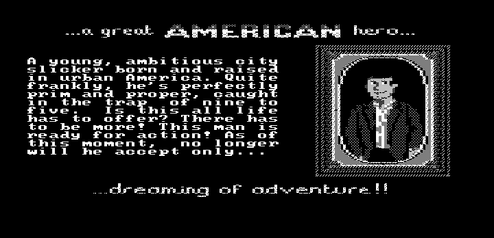 Gold Rush! DOS Intro (Hercules graphics)