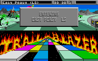Trailblazer Atari ST Entering Easy Peasy