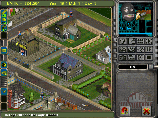 Constructor DOS But we don't want the enemy to have it peaceful