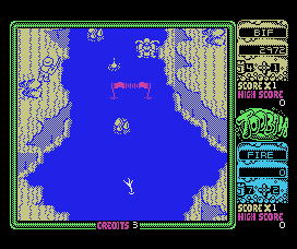 Toobin' MSX Bif is ready