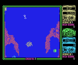 Toobin' MSX Getting more dangerous