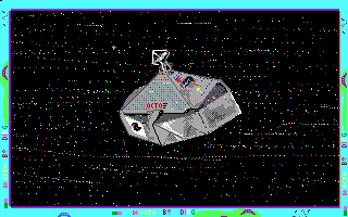 Alien Fires: 2199 AD DOS Your ship takes you there (EGA)