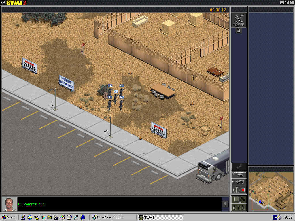 Police Quest: SWAT 2 Windows Playing