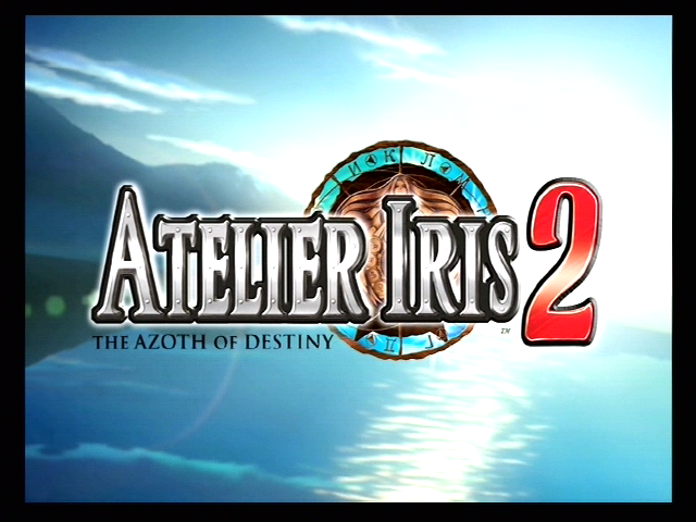 Atelier Iris 2: The Azoth of Destiny PlayStation 2 Title from the opening sequence
