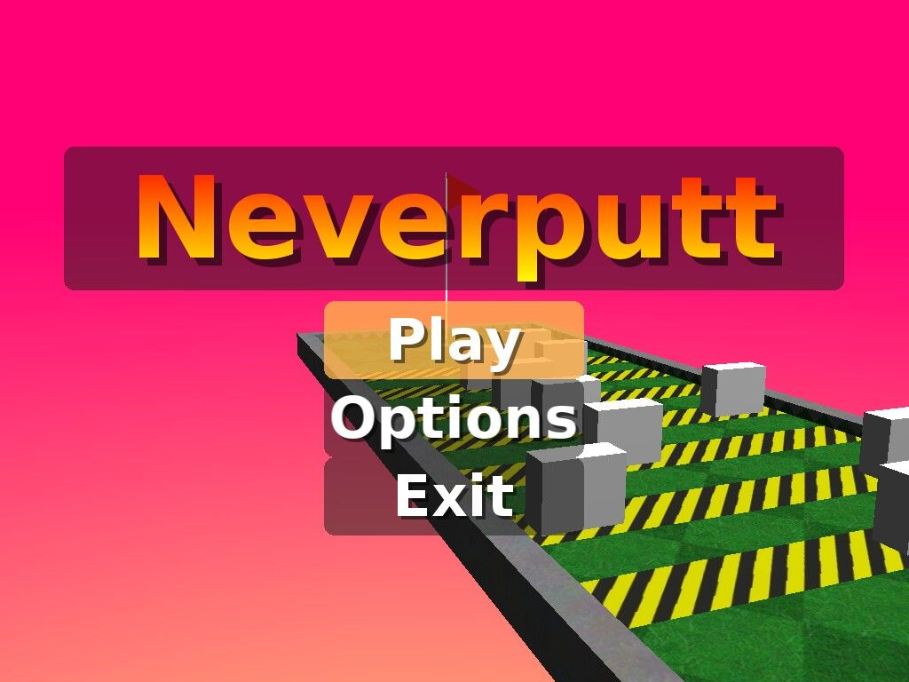 Neverball Windows Neverputt is also included