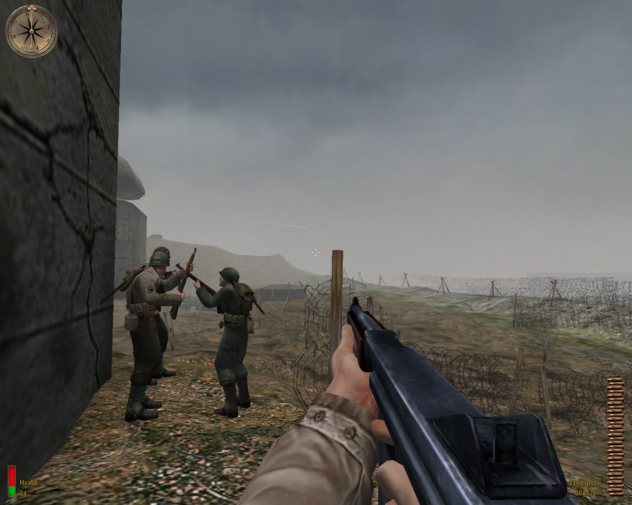 Medal of Honor: Allied Assault Windows Omaha beach