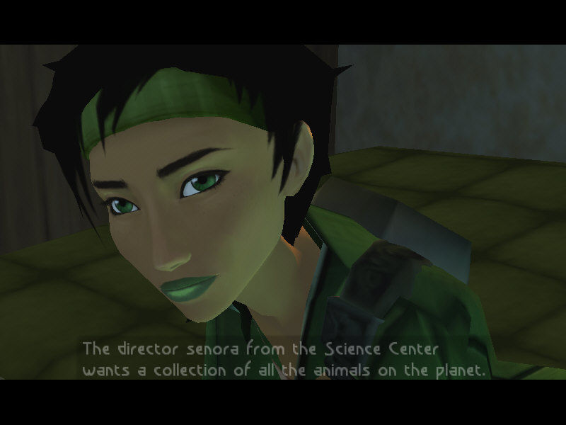 Beyond Good & Evil Windows Jade's face is so expressive – it runs through a palette of emotions during actual gameplay