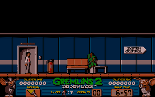 Gremlins 2: The New Batch Atari ST Game start