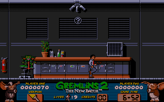 Gremlins 2: The New Batch Atari ST Multiple ledges here