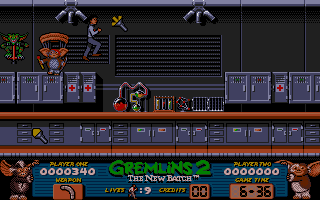Gremlins 2: The New Batch Atari ST Something's brewing