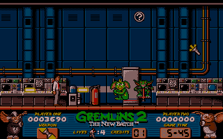 Gremlins 2: The New Batch Atari ST This weapon shoots both ways