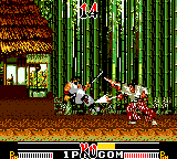 Samurai Shodown Game Gear Ouch!