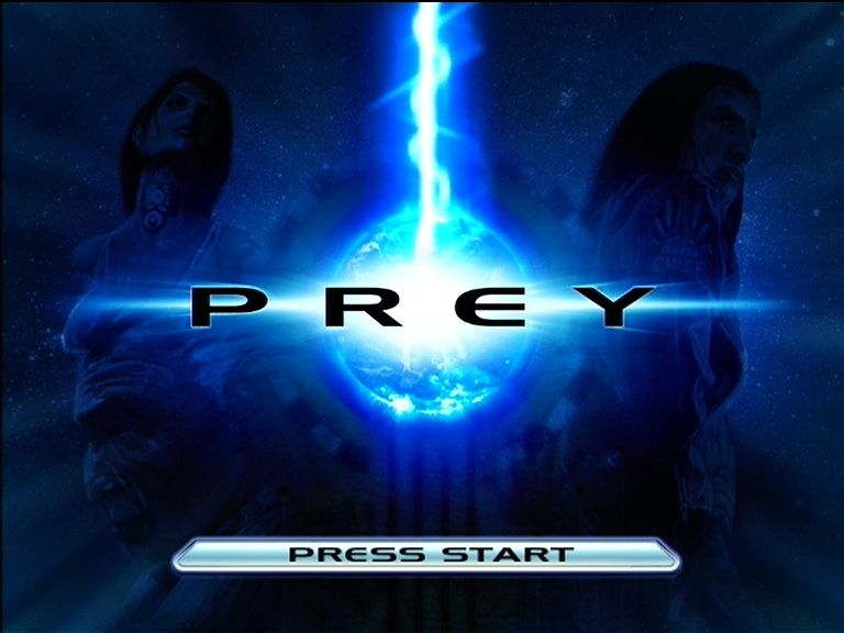 Prey Xbox 360 Title screen