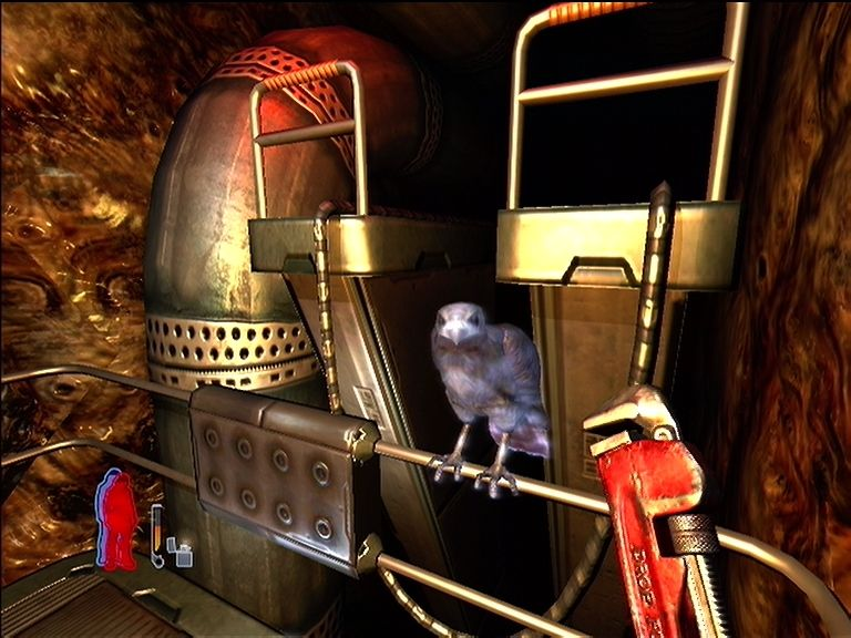 Prey Xbox 360 This bird is Tommy's guide throughout the game.