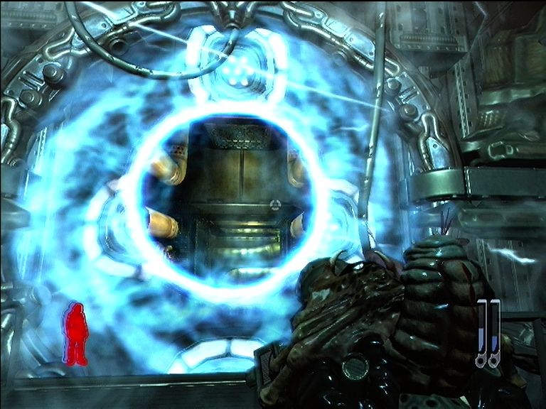 Prey Xbox 360 Portals allow you move from place to place.