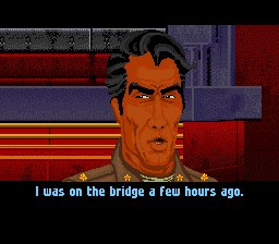 Wing Commander: The Secret Missions SNES Talking to Iceman