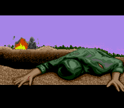 Jungle Strike SNES Game Over