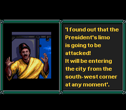 Jungle Strike SNES Cut scene
