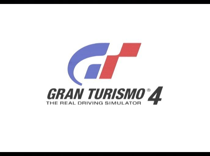Gran Turismo 4 PlayStation 2 Title screen