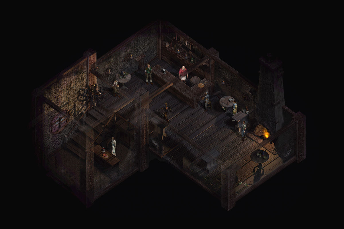 Lionheart: Legacy of the Crusader Windows Cathar Tavern