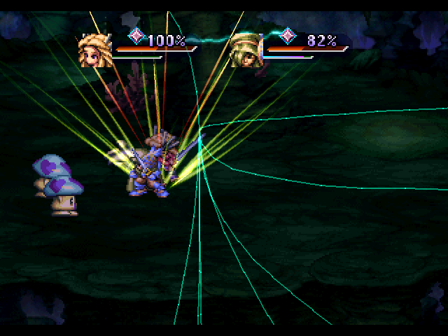 Legend of Mana PlayStation Performing a special ability