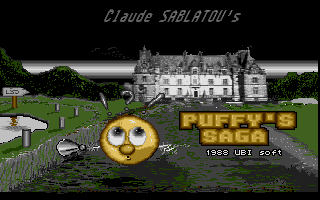 Puffy's Saga Atari ST Loading screen