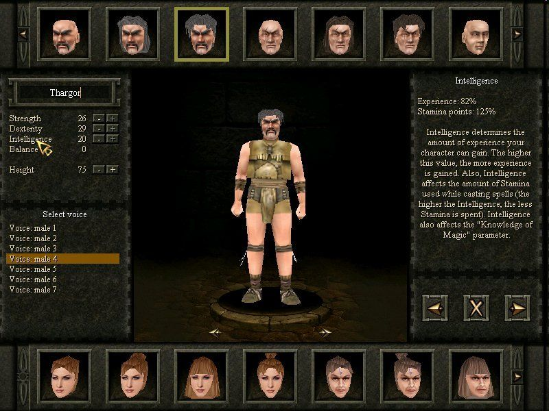 Evil Islands: Curse of the Lost Soul Windows In Multi-Player Mode You Can Design Your Own Character