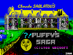 Puffy's Saga ZX Spectrum Loading screen
