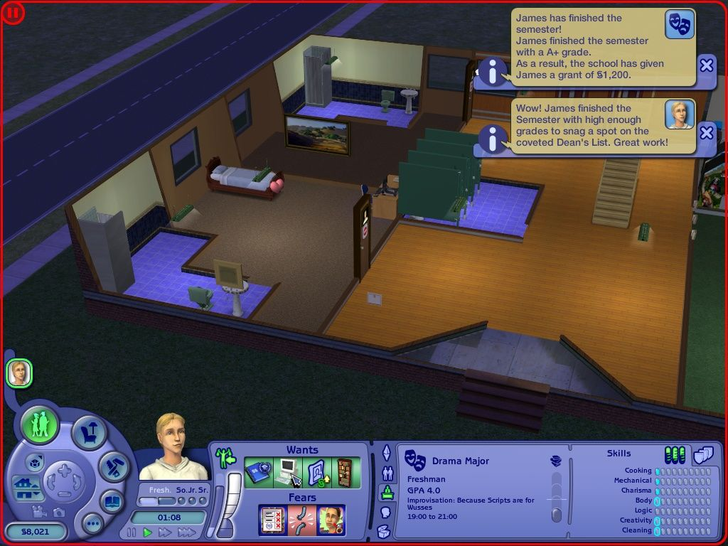 how to get rid of cash in sims 3