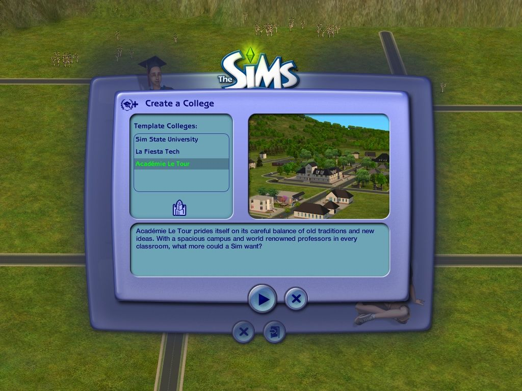The Sims 2 University Screenshots For Windows Mobygames