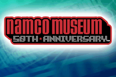 Namco Museum 50th Anniversary Game Boy Advance Title screen.