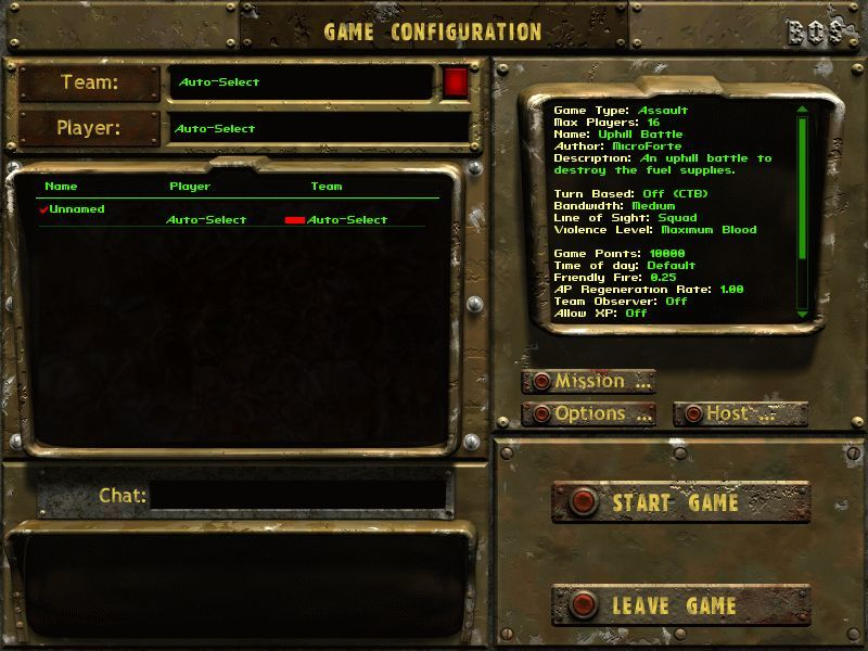 Fallout Tactics: Brotherhood of Steel  Windows Create your own missions...