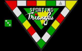 Sporting Triangles Atari ST The dice is rolled again